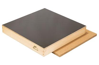 Stülpdeckel aus Holz 12er Dadant